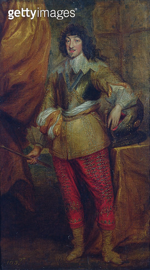 <b>Title</b> : Jean Baptiste Gaston, Duc d'Orleans (1608-60), brother of Louis XIII<br><b>Medium</b> : oil on canvas<br><b>Location</b> : Private Collection<br> - gettyimageskorea