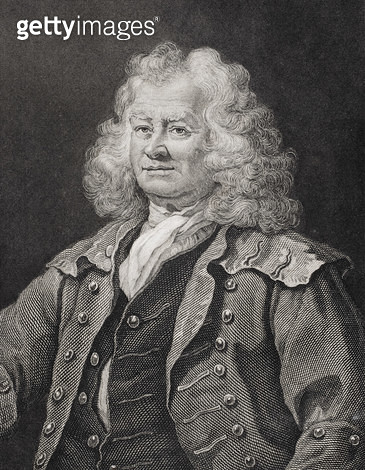<b>Title</b> : Thomas Coram, engraved by J.W. Cook (engraving)Additional InfoThomas Coram (c.1668-1751) founder of the Foundling Hospital in 17<br><b>Medium</b> : <br><b>Location</b> : Private Collection<br> - gettyimageskorea