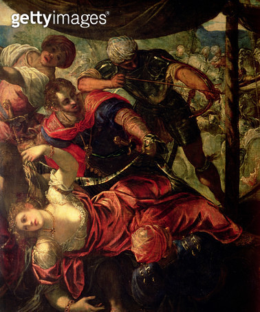 <b>Title</b> : Battle between Turks and Christians, c.1588/89 (detail of 38671)<br><b>Medium</b> : oil on canvas<br><b>Location</b> : Prado, Madrid, Spain<br> - gettyimageskorea
