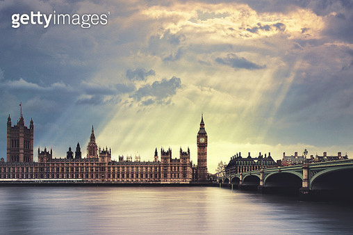 The Big Ben in London - gettyimageskorea