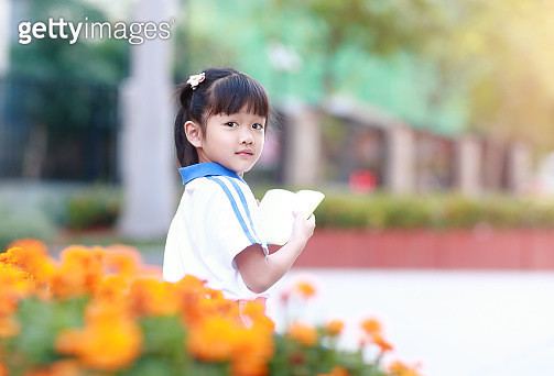 girl reading a book - gettyimageskorea