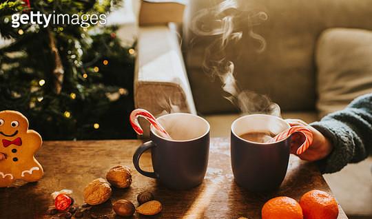 Festive Hot Chocolate - gettyimageskorea