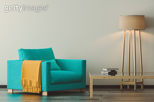 Modern Living Room Detail - gettyimageskorea