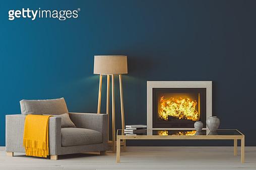 Winter Modern Living Room - gettyimageskorea