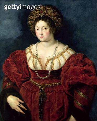 <b>Title</b> : Posthumous portrait of Isabella d'Este, Marchioness of Mantua (1474-1539), 1605-8 (oil on canvas)<br><b>Medium</b> : oil on canvas<br><b>Location</b> : Kunsthistorisches Museum, Vienna, Austria<br> - gettyimageskorea