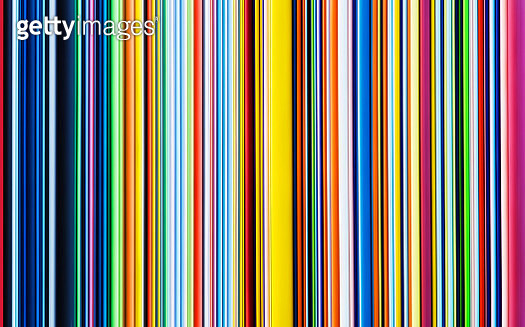 Abstract background of multicoloured stripes - gettyimageskorea
