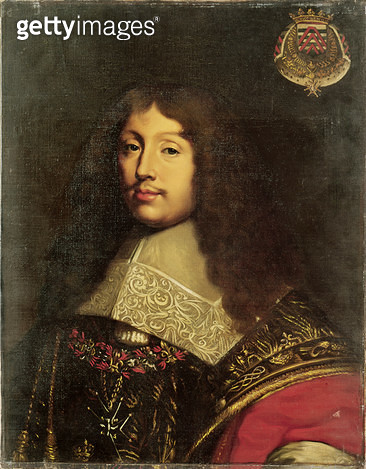 <b>Title</b> : Portrait of Francois VI (1613-80) Duke of La Rochefoucauld, 1836 (oil on canvas)<br><b>Medium</b> : oil on canvas<br><b>Location</b> : Chateau de Versailles, France<br> - gettyimageskorea