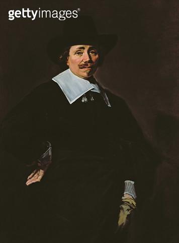 <b>Title</b> : A Dutch Gentleman, c.1643-45<br><b>Medium</b> : oil on canvas<br><b>Location</b> : National Gallery of Scotland, Edinburgh, Scotland<br> - gettyimageskorea