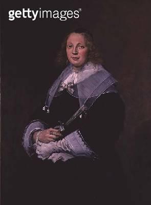 <b>Title</b> : A Dutch Lady, c.1643-45<br><b>Medium</b> : oil on canvas<br><b>Location</b> : National Gallery of Scotland, Edinburgh, Scotland<br> - gettyimageskorea