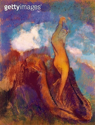 <b>Title</b> : The Birth of Venus, 1912 (pastel on paper)<br><b>Medium</b> : pastel on paper<br><b>Location</b> : Musee de la Ville de Paris, Musee du Petit-Palais, France<br> - gettyimageskorea