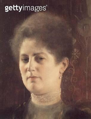 <b>Title</b> : Portrait of a lady<br><b>Medium</b> : oil on canvas<br><b>Location</b> : Wien Museum Karlsplatz, Vienna, Austria<br> - gettyimageskorea