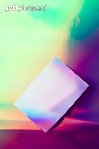 Hologram Foil Paper Gradient Colors - gettyimageskorea
