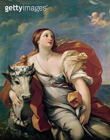 <b>Title</b> : The Rape of Europa (oil on canvas)<br><b>Medium</b> : oil on canvas<br><b>Location</b> : Musee des Beaux-Arts, Tours, France<br> - gettyimageskorea