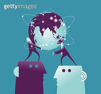 Vector illustration lit global earh pass - gettyimageskorea
