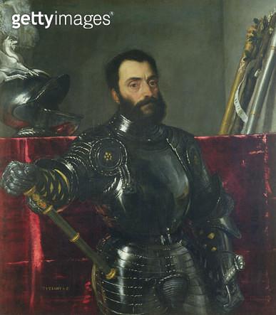 <b>Title</b> : Portrait of Francesco Maria Della Rovere, Duke of Urbino<br><b>Medium</b> : oil on canvas<br><b>Location</b> : Galleria degli Uffizi, Florence, Italy<br> - gettyimageskorea