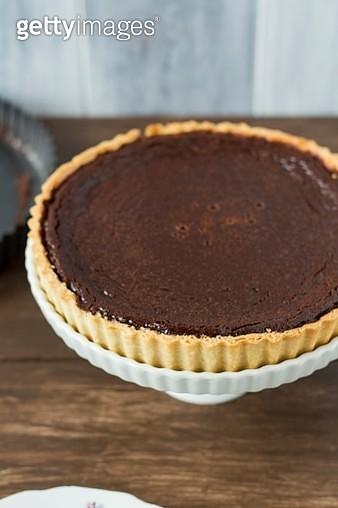 Chocolate tart - gettyimageskorea