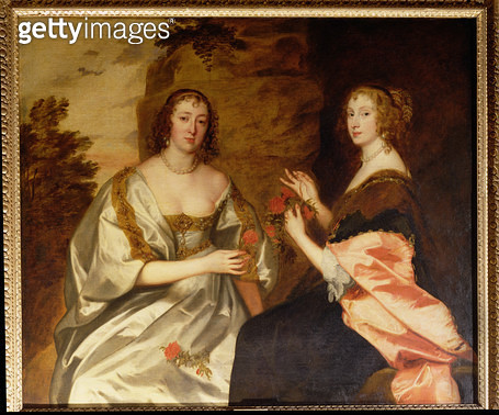 <b>Title</b> : Countess of Morton (d.1654) and Mrs. Killigrew (d.1638)<br><b>Medium</b> : oil on canvas<br><b>Location</b> : Collection of the Earl of Pembroke, Wilton House, Wilts.<br> - gettyimageskorea