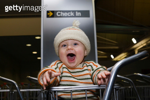 Check in baby - gettyimageskorea