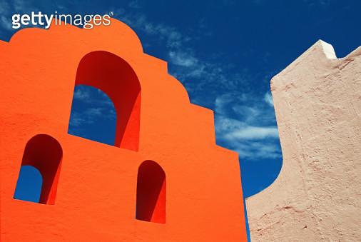 Architectural detail, Akumal, Mexico - gettyimageskorea