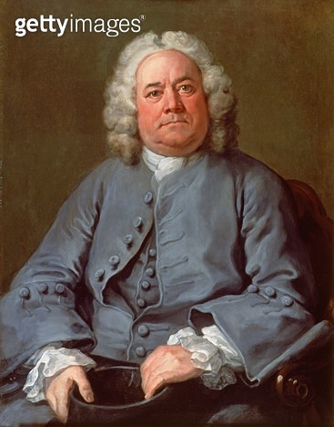 <b>Title</b> : Portrait of George Arnold Esq. of Ashby Lodge, 1738-40 (oil on canvas)<br><b>Medium</b> : oil on canvas<br><b>Location</b> : Fitzwilliam Museum, University of Cambridge, UK<br> - gettyimageskorea