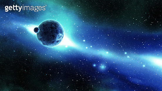 Digital Generated Image16:9 Space Scenes: - gettyimageskorea