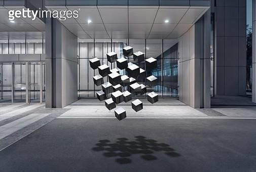 3d rendered blocks - gettyimageskorea