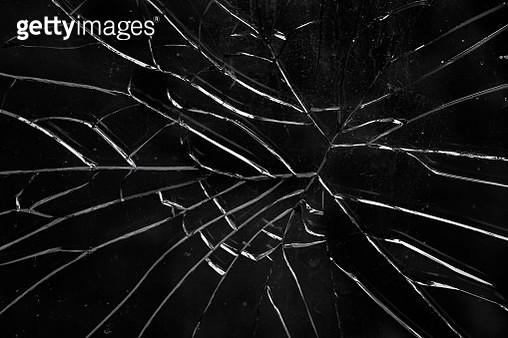 Broken glass - gettyimageskorea