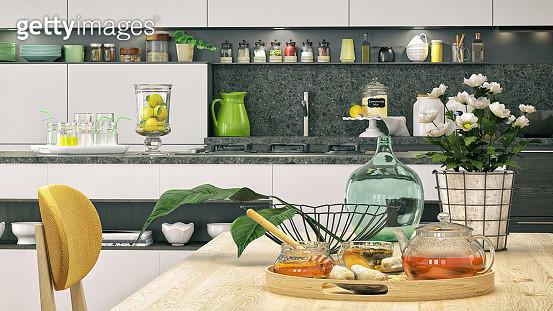 Kitchen close-up - gettyimageskorea