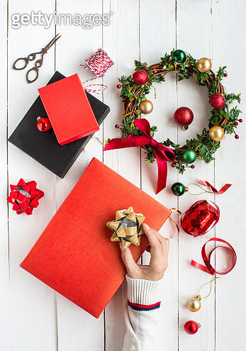 Christmas day object still life. - gettyimageskorea