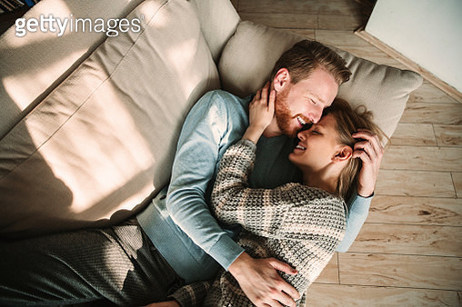 Young romantic couple in love - gettyimageskorea