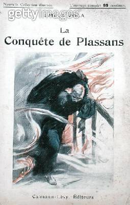 <b>Title</b> : Front cover to an edition of 'La Conquete de Plassans' by Emile Zola (1840-1902) c.1910 (colour litho)Additional Infofourth in t<br><b>Medium</b> : colour lithograph<br><b>Location</b> : Private Collection<br> - gettyimageskorea