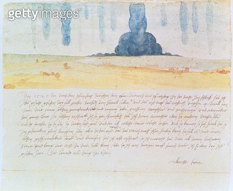 <b>Title</b> : A Vision (w/c)<br><b>Medium</b> : watercolour<br><b>Location</b> : Kunsthistorisches Museum, Vienna, Austria<br> - gettyimageskorea