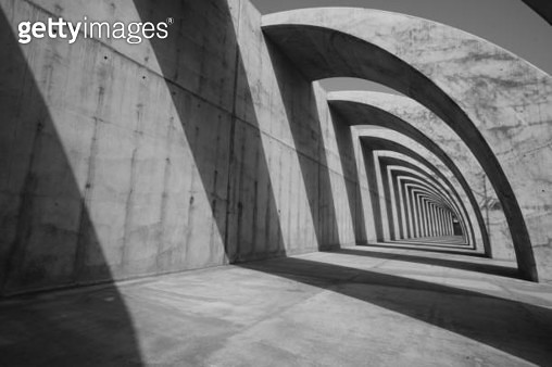 Concrete structure - gettyimageskorea