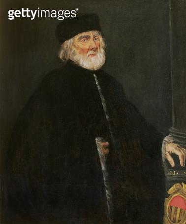 <b>Title</b> : Portrait of the Procurator Nicolo Priuli<br><b>Medium</b> : oil on canvas<br><b>Location</b> : Ca' d'Oro, Venice, Italy<br> - gettyimageskorea