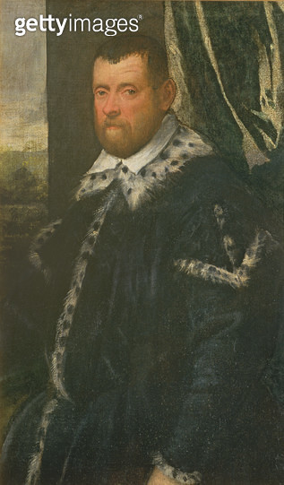 <b>Title</b> : Battista Morosoni (1537-98), High Procurator<br><b>Medium</b> : oil on canvas<br><b>Location</b> : Galleria dell' Accademia, Venice, Italy<br> - gettyimageskorea