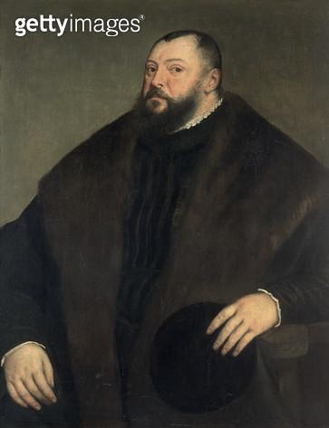 <b>Title</b> : Elector Johann Freidrich ven Sachsen (1503-54), 1550-51<br><b>Medium</b> : oil on canvas<br><b>Location</b> : Kunsthistorisches Museum, Vienna, Austria<br> - gettyimageskorea