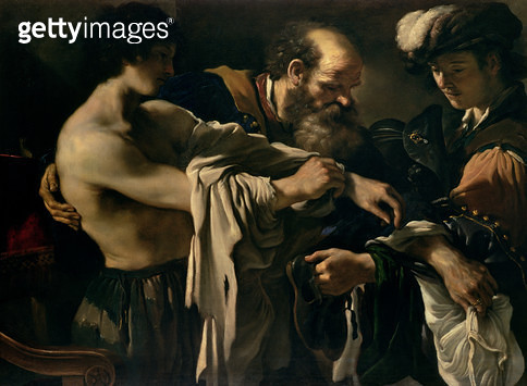 <b>Title</b> : The Return of the Prodigal Son<br><b>Medium</b> : oil on canvas<br><b>Location</b> : Kunsthistorisches Museum, Vienna, Austria<br> - gettyimageskorea