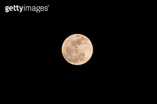 Beautiful Super Moon - gettyimageskorea
