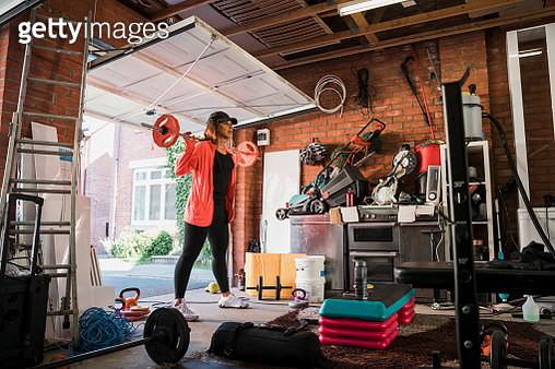 Convenience of a Garage Gym - gettyimageskorea