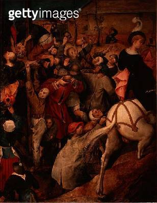 <b>Title</b> : The Feast of St. Martin (tempera on canvas) (detail)<br><b>Medium</b> : tempera on canvas<br><b>Location</b> : Kunsthistorisches Museum, Vienna, Austria<br> - gettyimageskorea