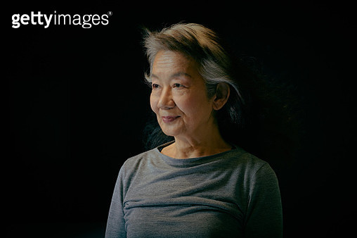 Sincere Japanese stage actress - gettyimageskorea