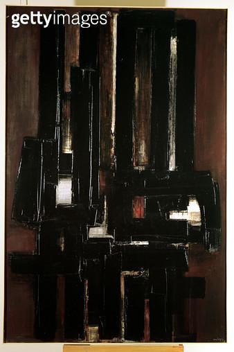 <b>Title</b> : Painting, 1956 (oil on canvas)<br><b>Medium</b> : oil on canvas<br><b>Location</b> : Musee National d'Art Moderne, Centre Pompidou, Paris, France<br> - gettyimageskorea