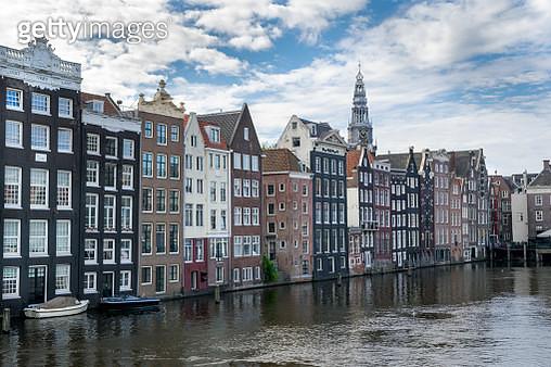 Amsterdam Skinny Houses - gettyimageskorea