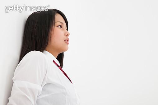 Portrait of japanese high school students - gettyimageskorea