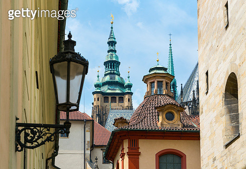 Prague Castle, Prazsky hrad, Prague, Czech Republic, Europe - gettyimageskorea