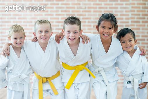 Martial Arts Kids - gettyimageskorea