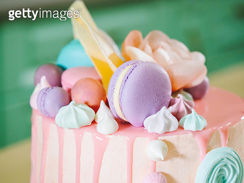 Close-Up Of Cake - gettyimageskorea