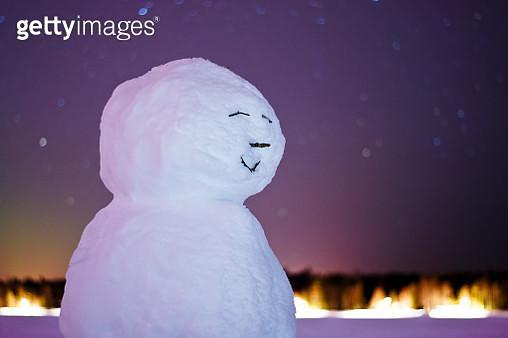 snowman - gettyimageskorea