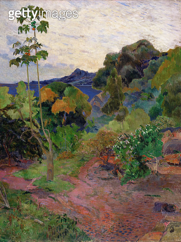 <b>Title</b> : Martinique Landscape, 1887<br><b>Medium</b> : oil on canvas<br><b>Location</b> : National Gallery of Scotland, Edinburgh, Scotland<br> - gettyimageskorea