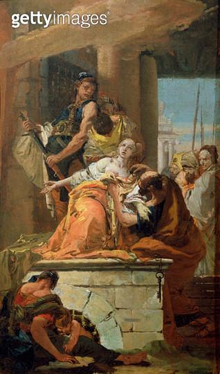 The Martyrdom of St. Agatha/ c.1734 - gettyimageskorea